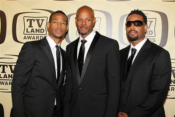 The Wayans Brothers -- Marlon Wayans, Keenan Ivory Wayans and Shawn Wayans -- appear at the 2012 TV Land Awards, honoring &#39;In Living Color&#39; and other shows, in New York on April 14, 2012. <span class=meta>(Amanda Schwab &#47; Startraksphoto.com)</span>