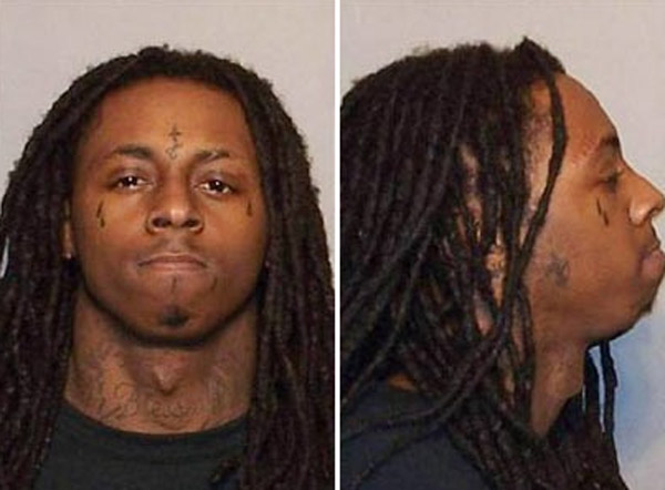 In March 2010, rapper Lil Wayne, whose real name is Dwayne Carter, began serving time for a 2007 felony gun conviction made after a semi-automatic pistol was found on his tour bus. He is due to be released in early November 2010.