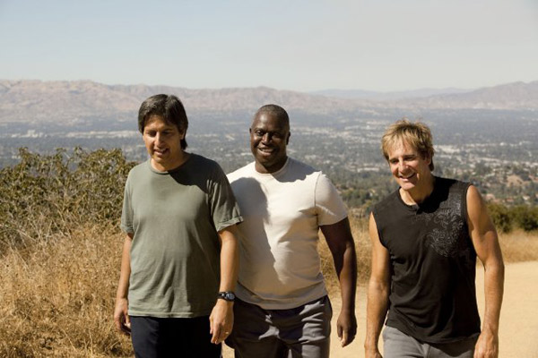 &#39;Men of a Certain Age&#39; is nominated for &#39;Best New Television Series,&#39; it was written by Bridget Bedard, Tucker Cawley, Warren Hutcherson, Rick Muirragui, Jack Orman, Ray Romano, Mike Royce, Lew Schneider and Mark Stegemann. It was produced by TNT. &#40;Pictured: Ray Romano, Andre Braugher and Scott Bakula in a still from &#39;Men of a Certain Age.&#39;&#41; <span class=meta>(Photo courtesy ofTNT)</span>