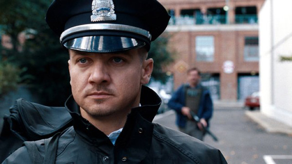 "<div class=""meta ""><span class=""caption-text "">'The Town' is nominated for 'Best Adapted Screenplay,' it was written by Peter Craig and Ben Affleck & Aaron Stockard and was based on the novel 'Prince of Thieves' by Chuck Hogan. It was produced by Warner Bros. (Pictured: Jeremy Renner in a still from 'The Town.') (Photo courtesy of Warner Bros.)</span></div>"
