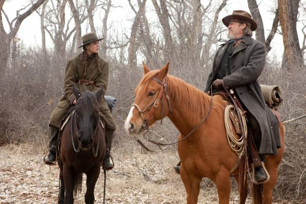 "<div class=""meta ""><span class=""caption-text "">'True Grit' is nominated for 'Best Adapted Screenplay,' it was written by Joel Coen & Ethan Coen and was based on the novel by Charles Portis. It was produced by Paramount Pictures. (Pictured: Hailee Steinfeld and Jeff Bridges in a still from 'True Grit.') (Photo courtesy of Paramount Pictures)</span></div>"