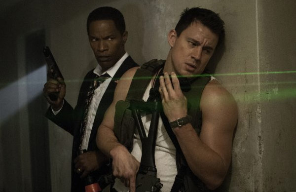 "<div class=""meta image-caption""><div class=""origin-logo origin-image ""><span></span></div><span class=""caption-text"">Channing Tatum appears in a scene from his 2013 action film, 'White House Down,' which also stars Jamie Foxx and Maggie Gyllenhaal. (Columbia Pictures)</span></div>"