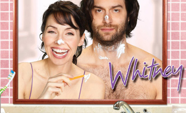 Still image of Whitney Cummings and Chris D'Elia...