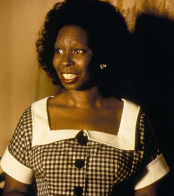 Whoopi Goldberg appears in a scene from the 1994...
