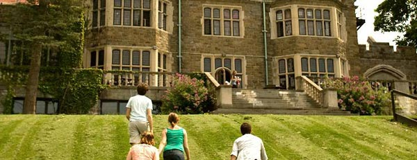 A photo of Bard University, as seen on the school's official website.