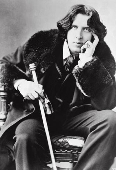 Oscar Wilde appears in this undated photo.