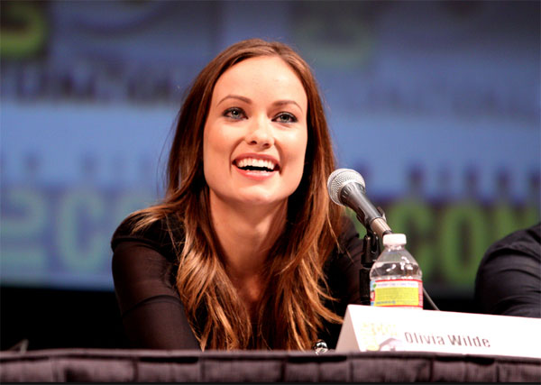 Olivia Wilde appears in a photo from Comic-Con...
