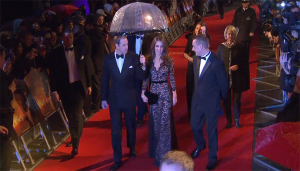 Kate, Duchess of Cambridge, appears at the UK...