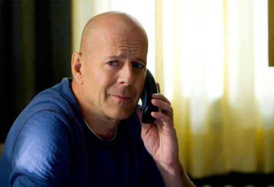 Bruce Willis in a scene from the 2010 film, 'Red.'