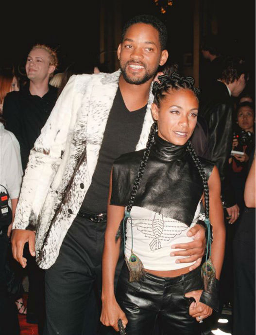 "<div class=""meta image-caption""><div class=""origin-logo origin-image ""><span></span></div><span class=""caption-text"">Will Smith and wife Jada Pinkett Smith appear with the actor's son Trey and the pair's son Jade and daughter Willow at the premiere of 'After Earth' in new York on May 29, 2013. The Smiths wed in 1997.  (Marion Curtis / Startraksphoto.com)</span></div>"