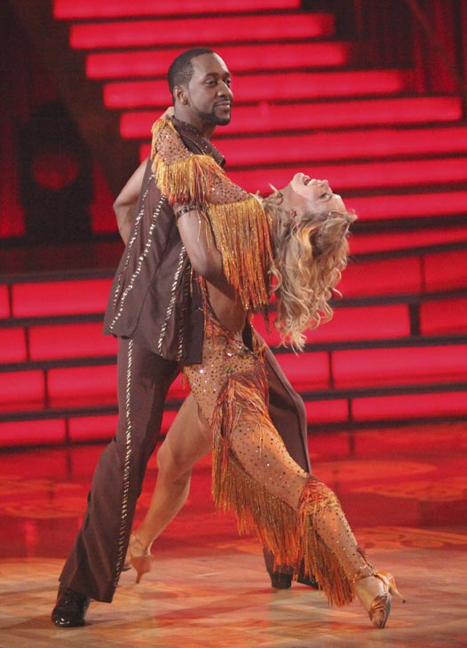 "<div class=""meta ""><span class=""caption-text "">Jaleel White, who played Steve Urkel on 'Family Matters,' and his partner Kym Johnson received 24 out of 30 points from the judges for their Salsa on week five of 'Dancing With The Stars,' which aired on April 16, 2012.  (ABC)</span></div>"