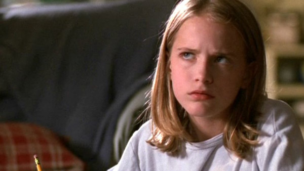 Evan Rachel Wood appears in a photo from the 1999 show 'Once and Again.'