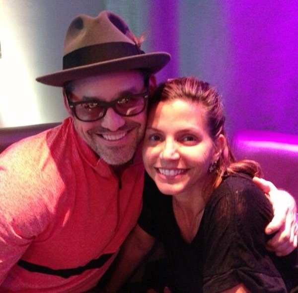 Charisma Carpenter tweeted this photo of herself with fellow Buffy the Vampire Slayer alum Nicholas Brendon, on July 4, 2013, saying: #XanderandCordelia #Paris2013. The two are in Paris for Fashion Week. - Provided courtesy of twitter.com/AllCharisma/status/352897239334678529/photo/1