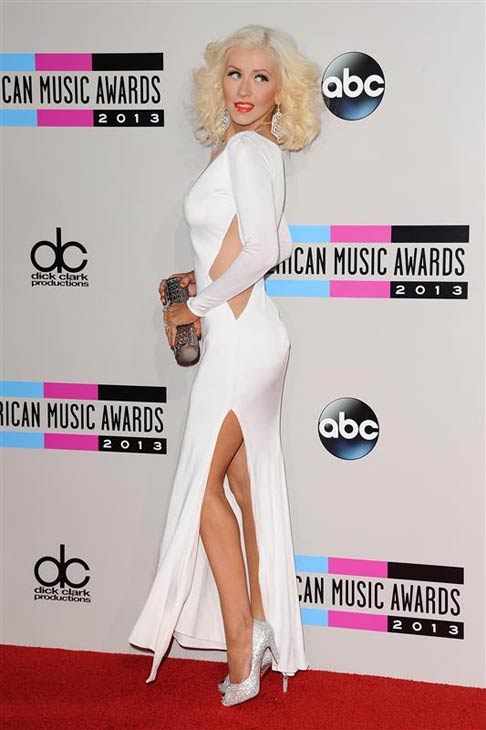 Christina Aguilera appears at the 2013 American Music Awards in Los Angeles, California on Nov. 24, 2013.  <span class=meta>(Kyle Rover &#47; startraksphoto.com)</span>