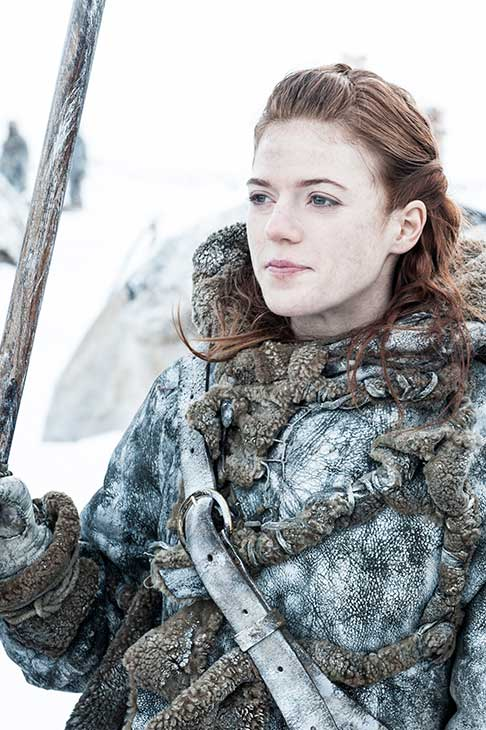 Rose Leslie appears as Ygritte &#40;&#39;You know nothing, Jon Snow&#39;&#41; in a scene from season 3 of the HBO series &#39;Game of Thrones.&#39; <span class=meta>(Helen Sloan &#47; HBO)</span>