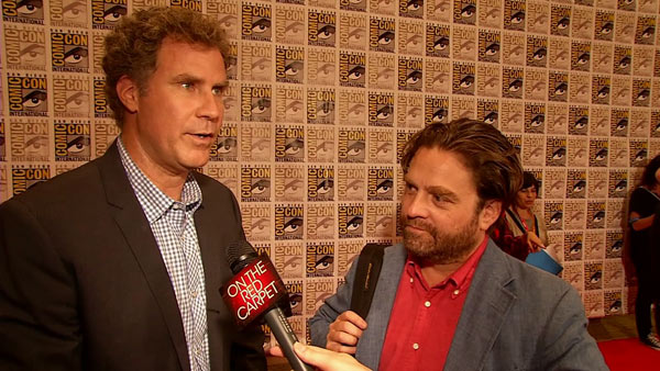 Will Ferrell turns 45 on July 16, 2012. The &#39;SNL&#39; alum is known for movies such as &#39;Old School,&#39; &#39;Step Brothers,&#39; &#39;Anchorman: The Legend of Ron Burgundy&#39; and its upcoming sequel, as well as for his uncanny impression of Robert Goulet.  &#40;Pictured: Will Ferrell and Zach Galifianakis talk to OnTheRedCarpet.com at San Diego Comic-Con on July 13, 2012. The two attended the event to promote their new political comedy film &#39;The Campaign,&#39; which hits theaters on August 10, about three months before the 2012 U.S. presidential election.&#41; <span class=meta>(OTRC)</span>