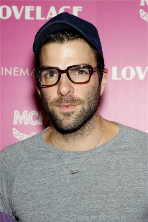 'Star Trek' and 'American Horror Story' star Zachary Quinto attends a screening of 'Lovelace,' hosted by the Cinema Society and MCM with Grey Goose, at the Metropolitan Museum of Art (MoMa) in New York on July 30, 2013.