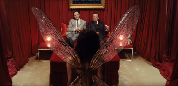 Zoe Kravitz appears as the mutant Angel...