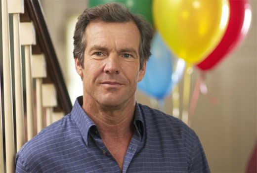 Dennis Quaid turns 58 on April 9, 2012. The award winning actor is known for films such as &#39;The Parent Trap,&#39; &#39;The Day After Tomorrow,&#39; &#39;Vantage Point,&#39; &#39;Frequency,&#39; and &#39;Pandorum.&#39;  <span class=meta>(Universal Pictures&#47;Depth of Field)</span>