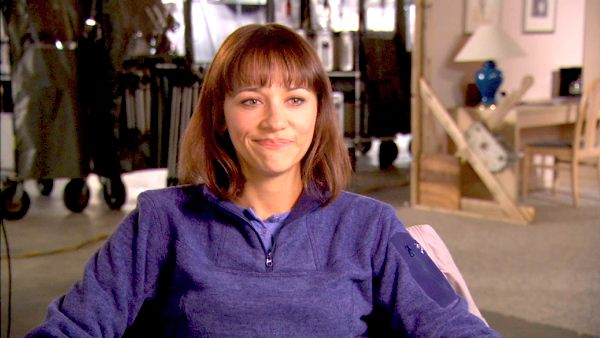 Rashida Jones talks about 'The Big Year,' which is slated for release on October 14, 2011.