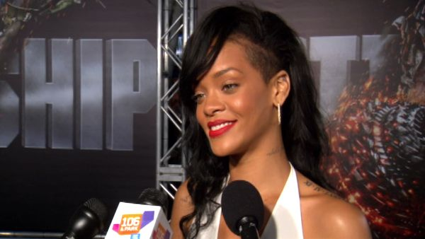Rihanna turns 25 on Feb. 20, 2013. &#40;Pictured: Rihanna talks to OnTheRedCarpet.com at the premiere of &#39;Battleship&#39; on May 10, 2012.&#41; <span class=meta>(OTRC)</span>
