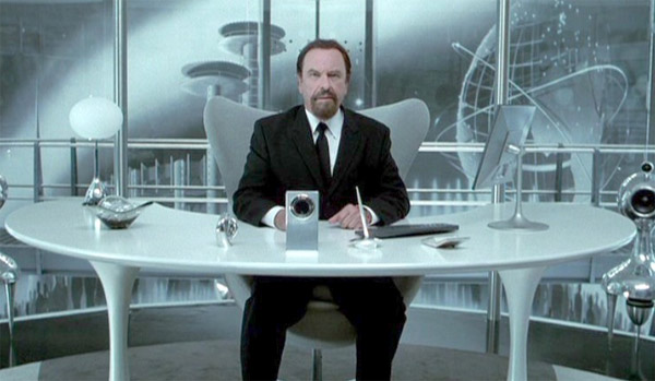 Rip Torn appears in a scene from the movie 'Men In Black II.'