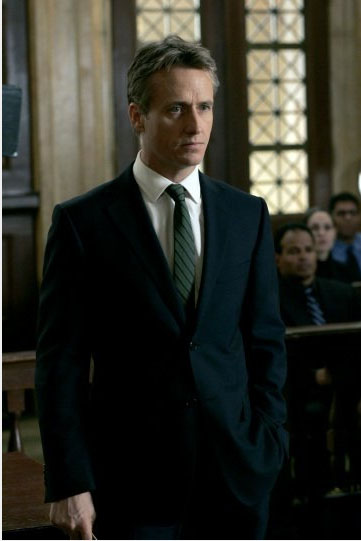 Linus Roache in a scene from 'Law and Order.'