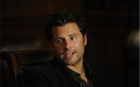 James Roday in a scene from 'Psych.'