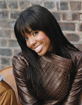 Kelly Rowland appears in a photo posted on her Facebook page.