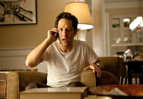 Paul Rudd turns 43 on April 6, 2012. The actor is known for films such as &#39;I Love You, Man,&#39; &#39;Role Models,&#39; &#39;Knocked Up,&#39; &#39;The 40-Year-Old Virgin,&#39; and &#39;Clueless.&#39;  <span class=meta>(Columbia TriStar Marketing Group, Inc.&#47;Gracie Films&#47;Road Rebel)</span>