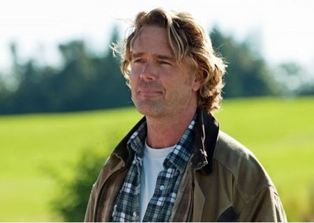 John Schneider in a scene from 'Smallville.'