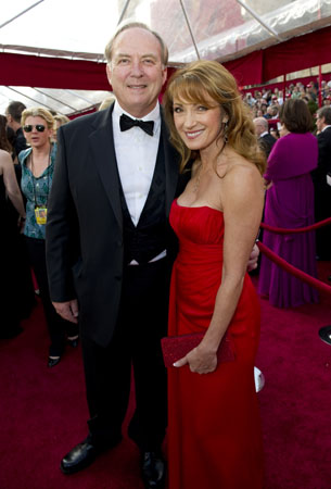 Jane Seymour on the red carpet, 2010.