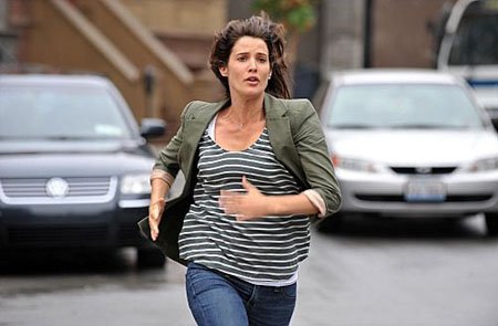 Cobie Smulders in a scene from 'How I Met Your Mother.'