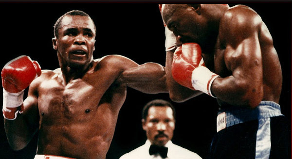 Sugar Ray appears in a photo from his official website, SugarRayLeonard.net.