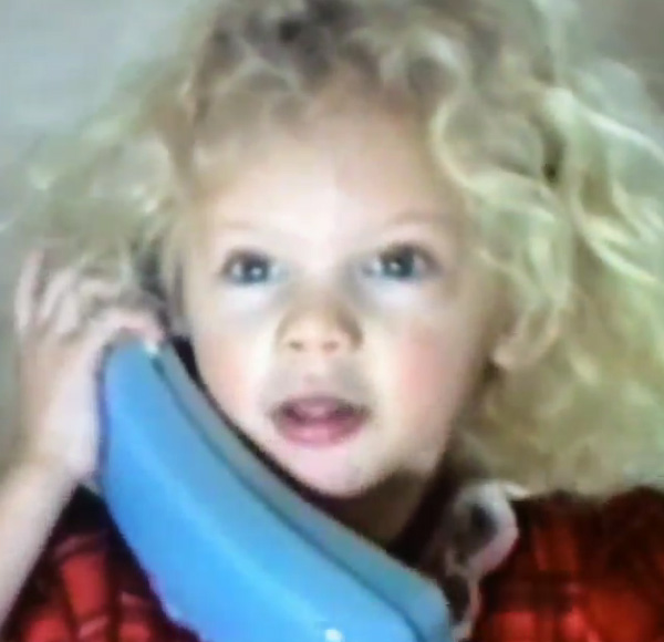 Taylor Swift shared a throwback video of herself on her Instagram page on Christmas Eve, Dec. 24, 2013, saying: &#39;Christmas 1993, on a very important phone call with Britany. @britmaack.&#39;  <span class=meta>(http:&#47;&#47;instagram.com&#47;p&#47;iSdM1KjvDb&#47; &#47; instagram.com&#47;taylorswift)</span>