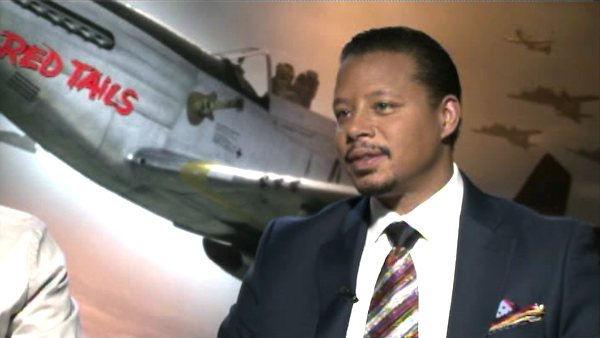 Terrance Howard talks about the film 'Red Tails'...