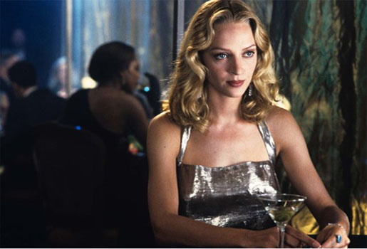 Uma Thurman in a scene from 'Gattaca.'