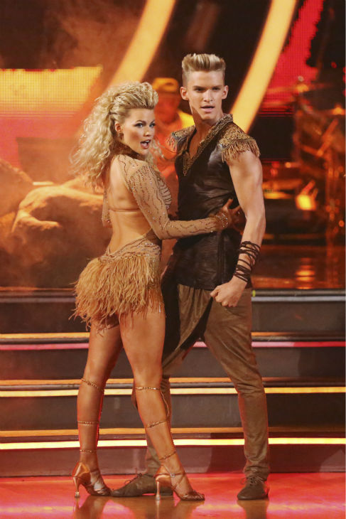 Cody Simpson and Witney Carson perform a &#39;Lion King&#39;-themed Samba on week 5 of &#39;Dancing With The Stars&#39; season 18 -- Disney Night -- on April 14, 2014. They received 34 out of 40 points from the judges for their dance. <span class=meta>(ABC Photo &#47; Adam Taylor)</span>