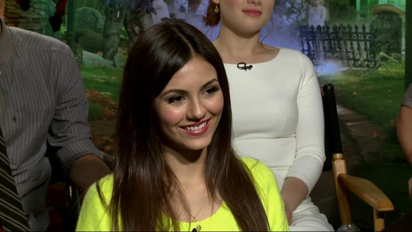Victoria Justice turns 19 on Feb. 19, 2012. The Nickelodeon star is known for shows such as &#39;Zoey 101,&#39; &#39;Victorious,&#39; and movies such as &#39;Spectacular,&#39; and &#39;Unknown.&#39; &#40;Pictured: Victoria Justice talks to OTRC.com about her film &#39;Fun Size.&#39;&#41; <span class=meta>(OTRC)</span>