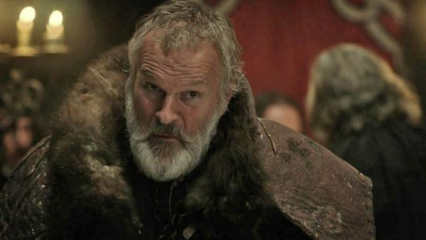 Clive Mantle appears as Greatjon Umber in a 2011 episode of HBOs Game of Thrones. - Provided courtesy of HBO