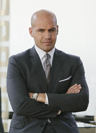 Billy Zane in the television series 'The Deep...