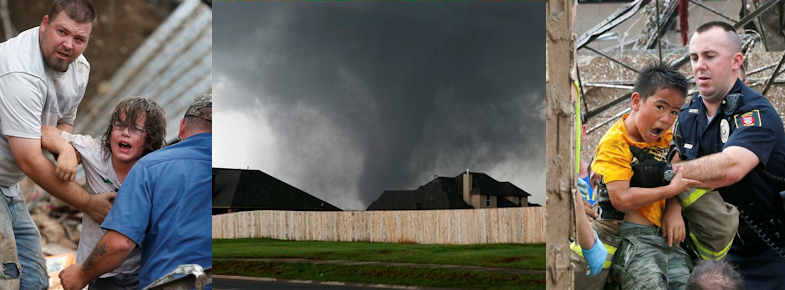 Oklahoma City tornado death toll revised to 24, 7 kids