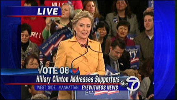 Video: Hillary's Super Tuesday speech
