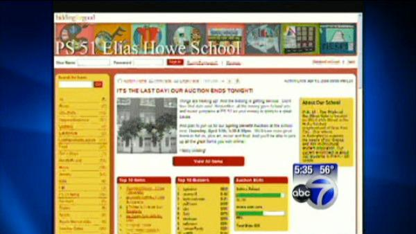 VIDEO: School online auctions