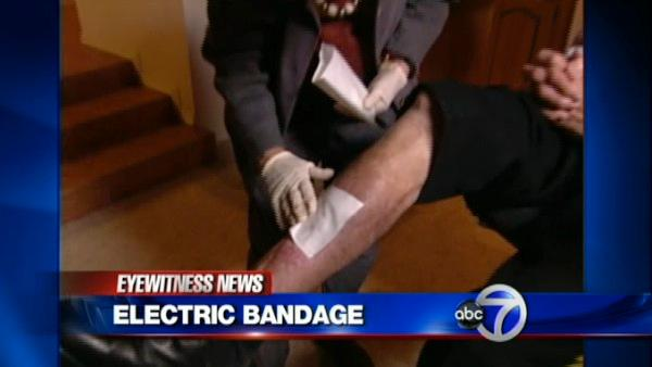VIDEO: Electric bandages