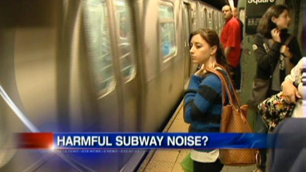 VIDEO: Noisy subways and hearing