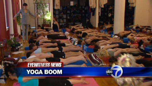 VIDEO: Yoga studios booming