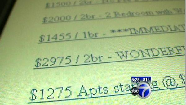 VIDEO: Apartment scam on Craigslist
