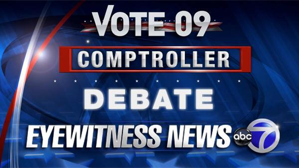 VIDEO: Comptroller Candidates Debate