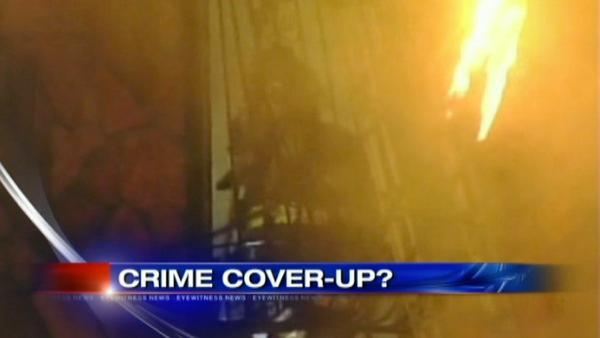 VIDEO: Fire to cover up murder?